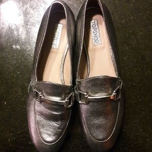 Topshop loafers size 37 6 1/2.